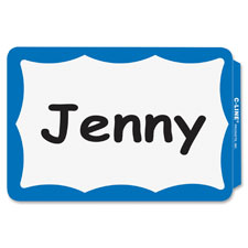 C-Line Adhesive Name Badges