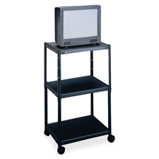 Quartet Adjustable Height AV Carts