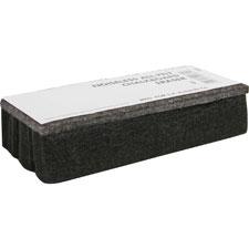 Sparco All-Felt Chalkboard Eraser