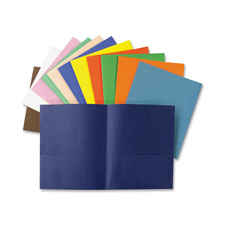 Ampad Double Pocket Leatherette Grade Portfolios