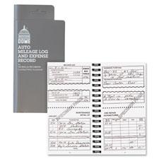Dome Publishing Auto Mileage & Expense Record Book