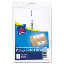 Avery Large Postage Meter Labels