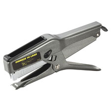 Plier stapler, 2-45 sheet cap., uses b8 staples, black, sold as 1 each
