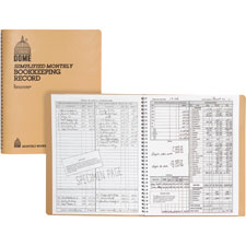 Dome Publishing Bookkeeping Record Books