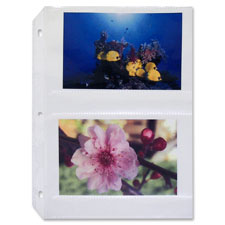 "Photo holders, side load, holds 4 photos, 4""x6"", 50/bx, cl, sold as 1 box, 20 each per box"