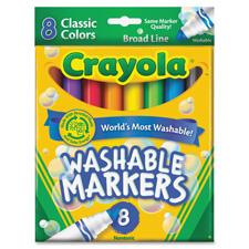 Crayola Classic Washable Marker Set