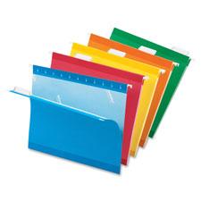 Esselte 1/5 Cut Colored Hanging File Folders