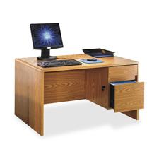 Lorell Radius Computer Desk
