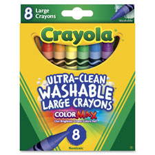 Crayola Kid's Large Washable Crayons