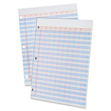 Ampad Heavyweight 3-Hole Punched Data Pads