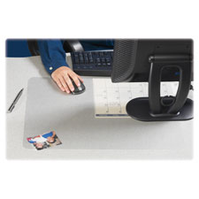 Artistic Krystal View Transparent Desk Pads