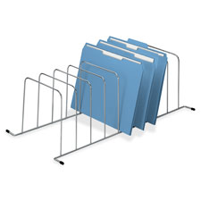 "SPR Product By Fellowes Mfg. Co. - 9 Div Wire File Organizer 11-1/2""x23-1/4""x7-1/2"" Silver at Sears.com"