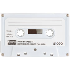 Dictation cassette, standard, 90 minute, sold as 1 each