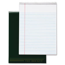 Tops Docket Wirebound Legal Writing Pads