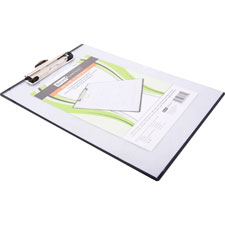 Baumgarten S Baumgartens Double-panel See-thru Clipboard