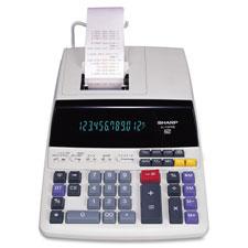 Sharp Heavy-Duty 12-Digit Print/Display Calculator