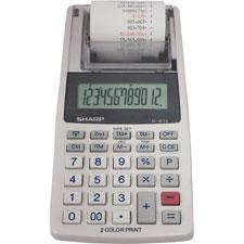 Sharp 12-Dgt Handheld Printing/Display Calculator