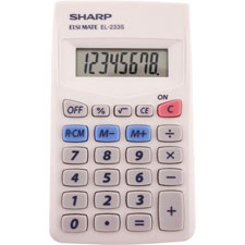 Sharp 8-Digit Pocket Calculator