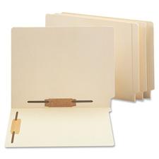 Smead End-Tab Straight Cut File Folder w/Fasteners