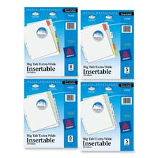 Avery Extra-Wide Big Tab Insertable Dividers