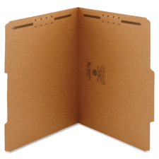 Smead 2/5 Cut Tab File Folders w/ Fasteners