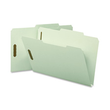Smead 2/5 Cut Top Tab Folders w/ Fasteners