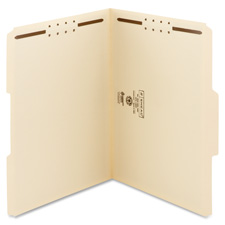 Smead 1/3 Cut Top Tab File Folders w/ Fasteners