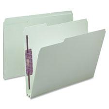 Smead 1/3 Cut Pressboard File Folders w/ Fasteners