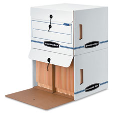 Fellowes Bankers Box Side-Tab Storage Files