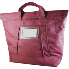 "Fire tote bag, fire/water resistant, 18""x7""x18"", burgundy, sold as 1 each"