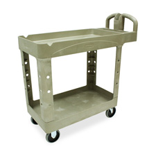 Rubbermaid Two-Tiered Full Service Carts