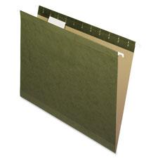 Esselte 1/5 Cut Std Hanging Folders w/ Pockets