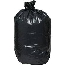 Heavy-duty trash bags, 1.5 mil, 55-60 gallon, 50/bx, black, sold as 1 box, 50 each per box