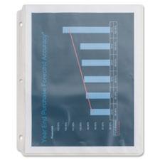 Sparco Top-Loading Vinyl Sheet Protectors