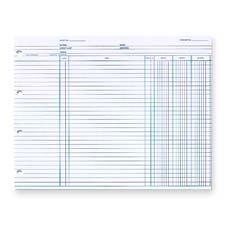 Acco/Wilson Jones Balance Ledger Columnar Sheets