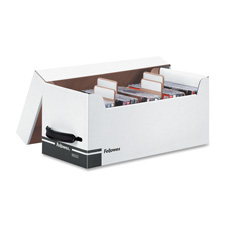 Fellowes Bankers Box Corrugated Disk/CD Stor Boxes