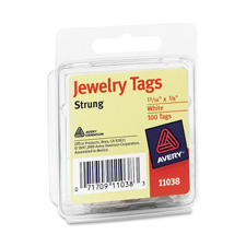Avery Strung Jewelry Tags