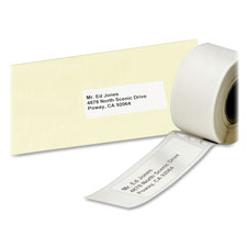 Avery 4153 Multi-purpose Labels, 4'' x 2-1/8'', 140/Roll, 1 RL/BX, White, AVE4153, AVE 4153