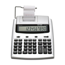Victor 10-Dgt LCD 2-Color Commercial Calculator