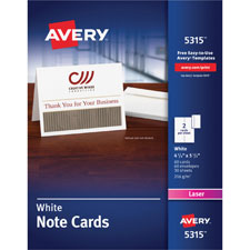 Avery Greeting/Note Cards w/Envelopes