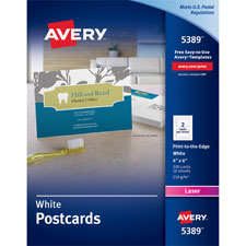 Avery Laser Postcards