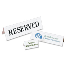 Avery Laser/Inkjet Embossed Tent Cards