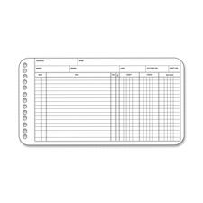 Acco/Wilson Jones Multiple Hole Ledger Sheets