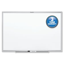 Quartet Aluminum Frame Melamine Marker Boards