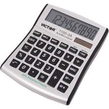 Victor 8-Digit Mini Desktop Display Calculator