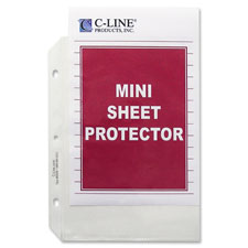 C-Line Top Loading Mini Sheet Protector