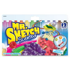 Sanford Mr. Sketch Scented Watercolor Markers