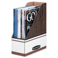 Fellowes Bankers Box Open-Back Magazine Files