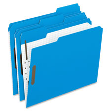 Esselte 1/3 Cut Colored Fasteners Folders