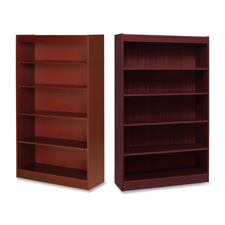Lorell High-quality Veneer Bookcases